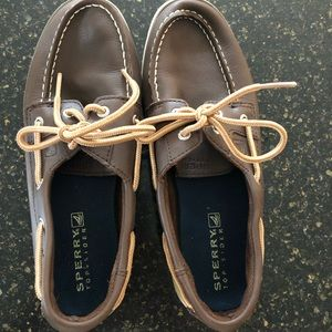 Sperry Leeward Boys Boat Shoes